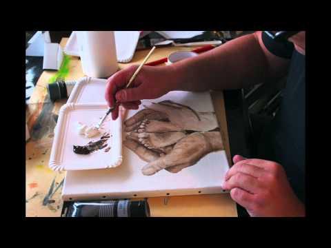Et maleri bliver til (Video)