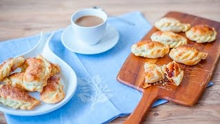 Empanadas de membrillo con masa casera