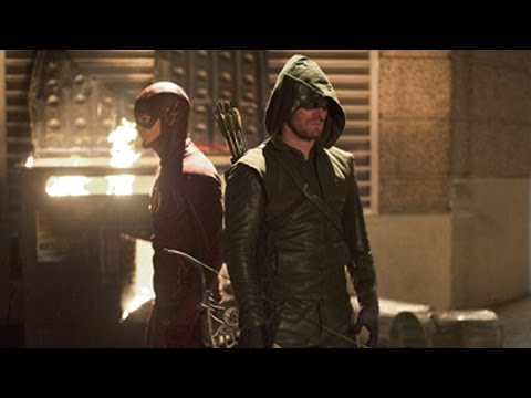 Flash VS Arrow Crossover Trailer Has Arrived
