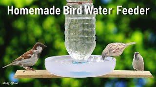 Video How To Make A Bird Water Feeder | DIY Homemade Plastic Bottle Bird Water Feeder MP3, 3GP, MP4, WEBM, AVI, FLV Agustus 2018