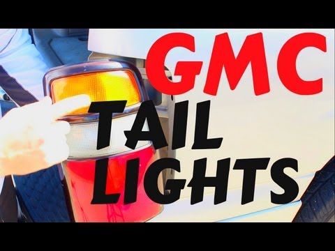 HOW TO CHANGE REPLACE TAIL LIGHTS LIGHTBULB GMC GM VEHICLES