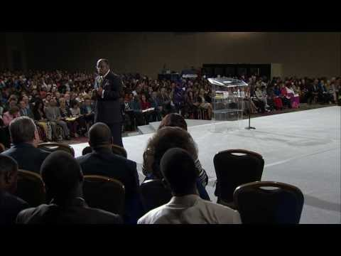 Dr. Myles Munroe ministering during the World Conference 2014 in Orlando!