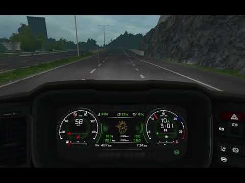 Scania S dashboard computer [14.09.18] 1.32.x