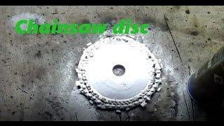 Video DIY A chainsaw disc \ COMO FAZER disco de motoserra MP3, 3GP, MP4, WEBM, AVI, FLV November 2017