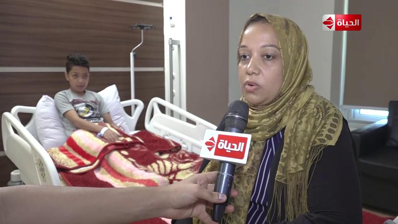 صبايا - لقاء مع والدة الطفل يوسف قبل وبعد إجراء العملية الجراحية بمساعدة ريهام سعيد