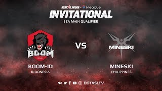 Boom-ID против Mineski, Первая карта, SEA квалификация SL i-League Invitational S3