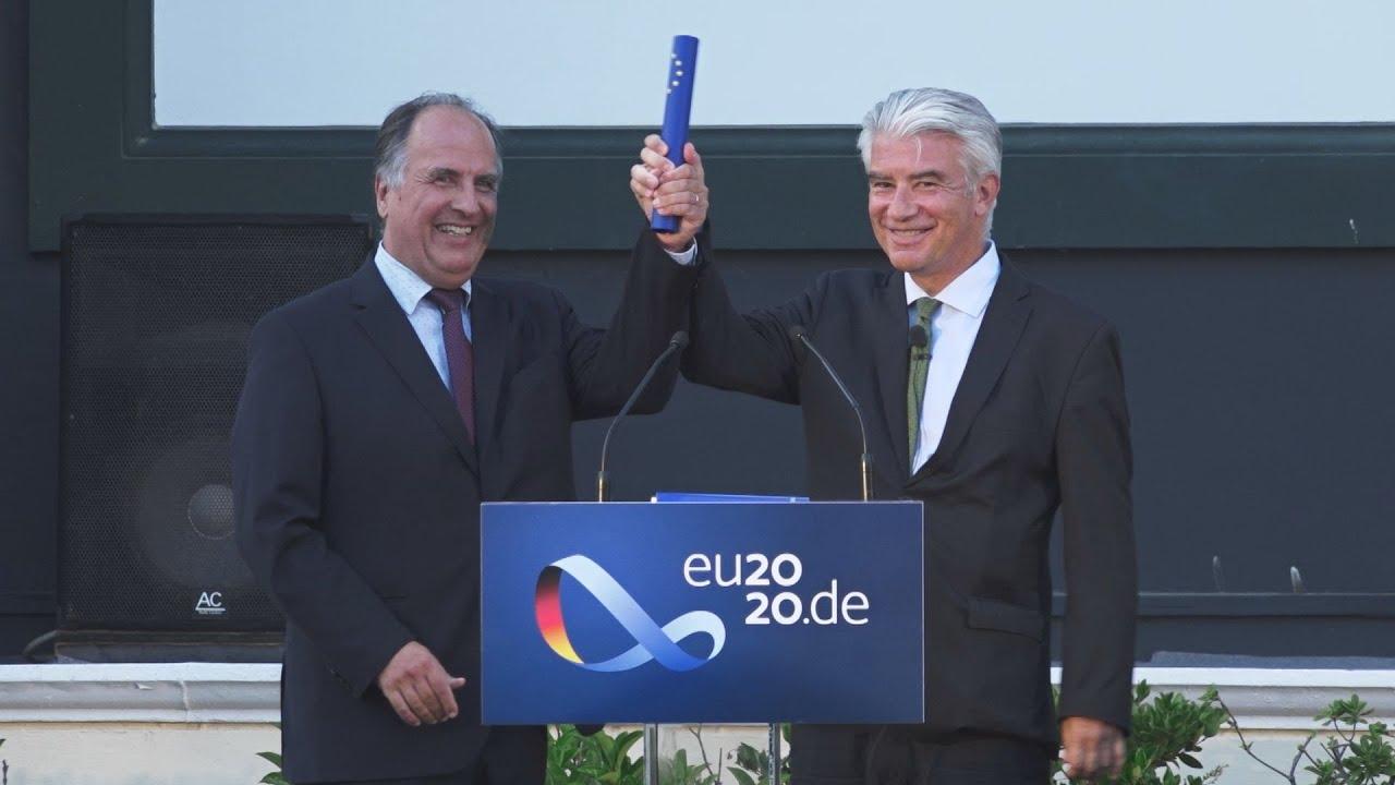 Τις προτεραιότητες της γερμανικής προεδρίας παρουσίασε στην Αθήνα ο Γερμανός πρέσβης, Ερνστ Ράιχελ