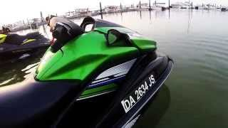10. Super Faaast Kawasaki Jet Ski Ultra 300X HD 1080p (Shot with GoPro Hero 3 + with Protune On)