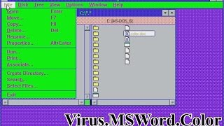 Virus.MSWord.Color (Win16)