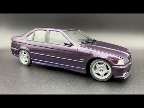 USCP/Hasegawa: BMW E36 M3 Full Build Step by Step