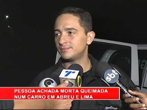 [RONDA GERAL] Corpo carbonizado é encontrato dentro de um carro, em Abreu e Lima