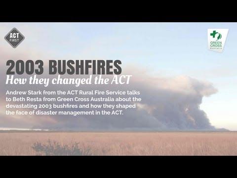 2003 bushfires