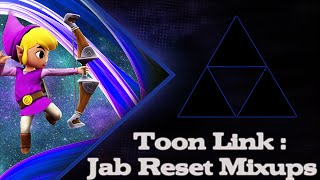 【SSB4】 Toonlink: Jab Reset Mixups