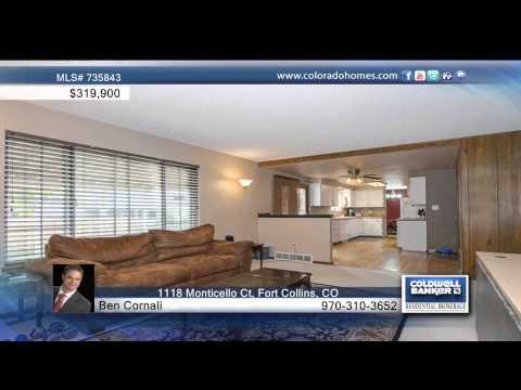 1118 Monticello Ct  Fort Collins, CO Homes for Sale | coloradohomes.com