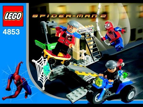 Video 4853 LEGO Spiderman - Spider Man's Street Chase (Instruction Booklet) download in MP3, 3GP, MP4, WEBM, AVI, FLV January 2017