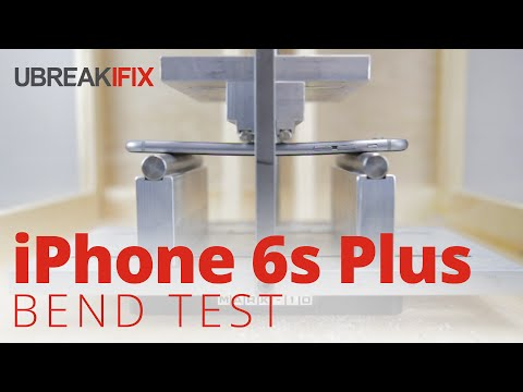 iPhone 6s Bend Test