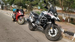 5. The BMW R1200GS Adventure...