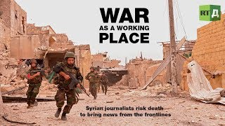 More films about war in Syria: https://rtd.rt.com/tags/syria/ TV reporter Rabie Deebh has been covering the Syrian Army's military operations since 2011. He has ...