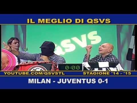 Milan - La cronaca di Milan-Juventus 0-1 in compagnia di Cristiano Ruiu e Marcello Chirico e le esultanze al gol di Tevez Qsvs - Qui Studio a Voi Stadio Telelombardia - Antenna 3 - Top calcio 24...