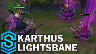 Chi tiết hình ảnh bộ trang phục mới Karthus Lightbane