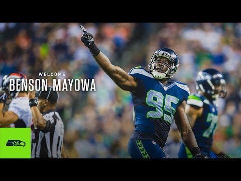Benson Mayowa Signs With Seattle Seahawks | Highlights