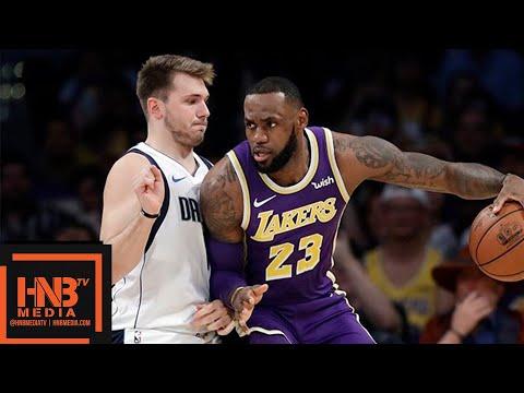 Los Angeles Lakers vs Dallas Mavericks Full Game Highlights   10.31.2018, NBA Season