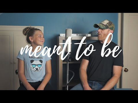 Video Meant To Be Bebe Rexha Florida Georgia Line (Cover) Derek Cate and Daughter Hailey download in MP3, 3GP, MP4, WEBM, AVI, FLV January 2017