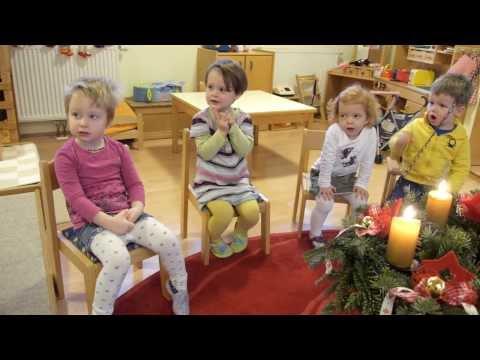 Weihnachtsfest - Lieder und Sprüche - MINIS Kinderkrippe Bad Waltersdorf