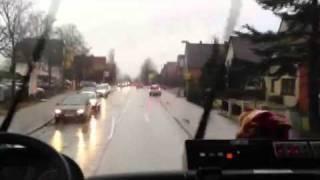 02/2012 THW Mölln Einsatzfahrt Mit Sonderrechten Am 24.02.2