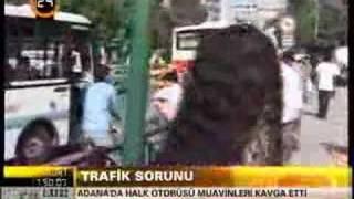 Halk Otobüs Şöförleri Kapıştı
