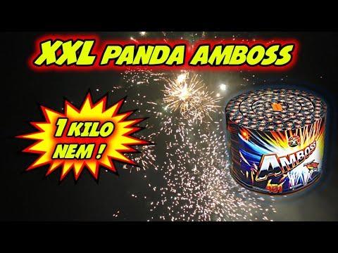 PANDA AMBOSS | XXL 70€ KUCHEN-BATTERIE | 1 KILO NEM