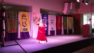 Auburn (AL) United States  City new picture : Semiclassical Kathak dance for diwali program 2016 at Auburn, AL, USA