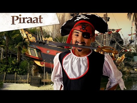 Tutorial piraten schmink