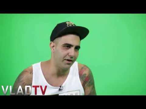 cassidy - http://www.vladtv.com - Following the press conference for the December clash of Dizaster vs. Cassidy, Diz sat down with VladTV to discuss the upcoming battl...