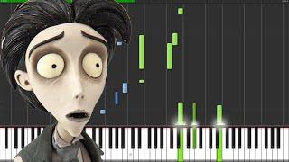 Download Lagu Victor's Piano Solo - Corpse Bride [Piano Tutorial] (Synthesia) // The Wild Conductor Mp3