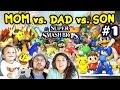 Lets Play Super Smash Bros 4 Wiiu Mom Vs Dad Vs Chase b