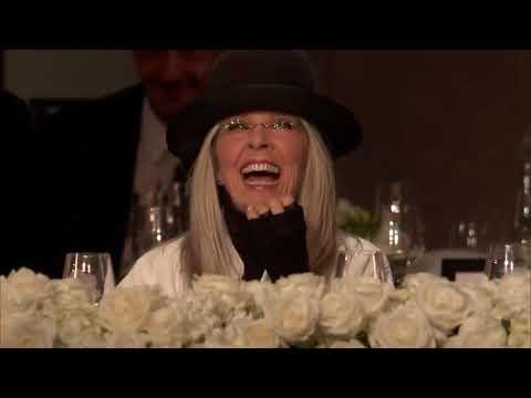 Woody Allen em homenagem a Diane Keaton