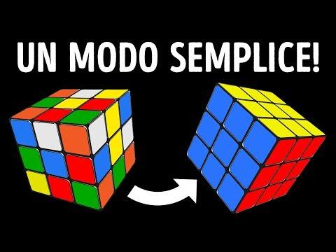 Come Risolvere Il Cubo di Rubik 3x3 in un Batter d'Occhio | Tutorial Semplicissimo
