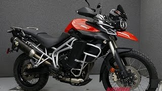 4. 2011 TRIUMPH TIGER 800XC  - National Powersports Distributors