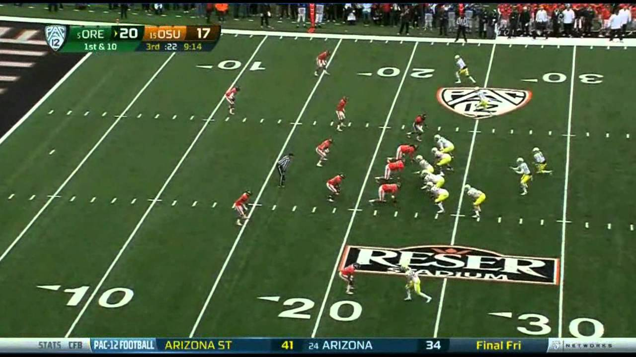 De'Anthony Thomas vs Oregon State (2012)