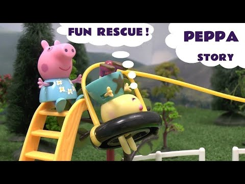 pig - Peppa Pig and Emily Elephant are playing in the Peppa Pig Treehouse eating Play Doh cakes. Pocoyo comes by. Rebecca Rabbit gets's into trouble on the Muddy Puddles Zip-Wire. Pocoyo leaves to...