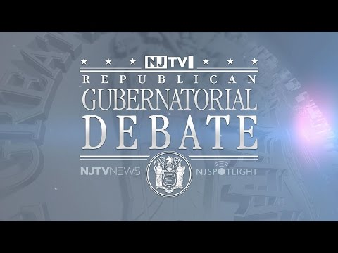 New Jersey Gubernatorial Republican Primary Debate