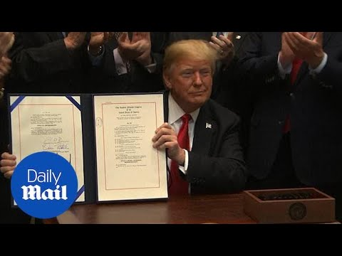 Trump signs Music Modernization Act for online music licensing