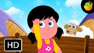 Little Bo Beep  - English Nursery Rhymes - Animated/ Cartoon Songs For Kids