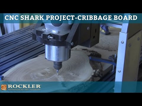 CNC Shark Project: Cribbage Board