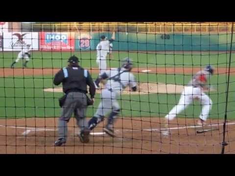 Charleston riverdogs - A selection of highlights from Charleston's pitchers against the Lakewood Blueclaws from May 1-3, 2013.
