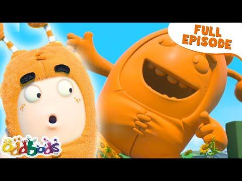 ODDBODS | The Gigantic Statue of Slickety | NEW Full Episode | Cartoons For Kids