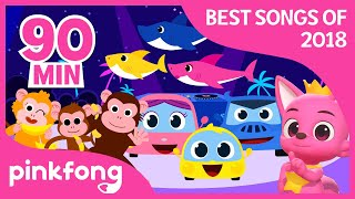Video Baby Shark and more | Best Songs of 2018 | +Compilation | Pinkfong Songs for Children MP3, 3GP, MP4, WEBM, AVI, FLV Januari 2019