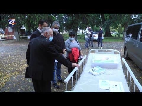 El hospital recibió donación de camas para CTI