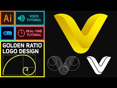 Golden Ratio Logo - Illustrator Tutorial For Beginners
